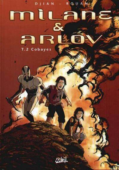 Milane et Arlov 2 tomes