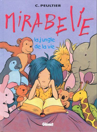 Couverture de Mirabelle (Peultier) -2- La jungle de la vie