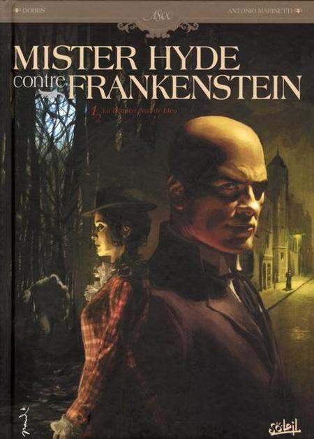 Couverture de Mister Hyde contre Frankenstein -1- La dernière nuit de Dieu