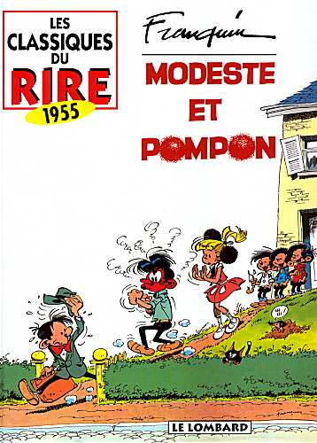 Couverture de Modeste et Pompon (Franquin) -INT2- Modeste et Pompon