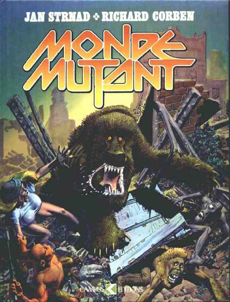 Couverture de Monde mutant - Tome 1