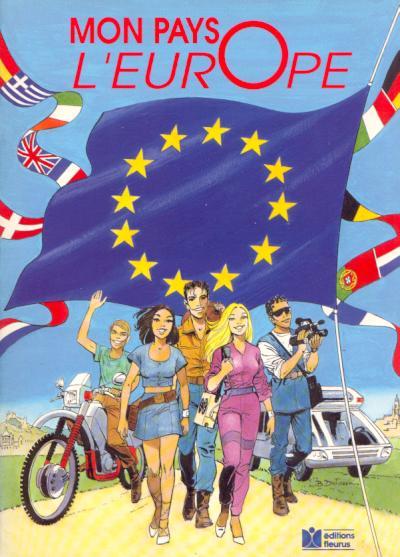 Couverture de Mon pays l'Europe