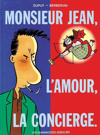 Couverture de Monsieur Jean -1- Monsieur Jean, l'amour, la concierge.