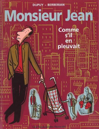 Couverture de Monsieur Jean -5- Comme s'il en pleuvait