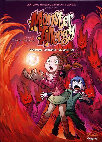 Couverture de Monster Allergy -12- L'autre dompteur