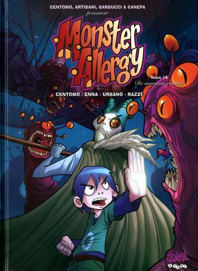 Couverture de Monster Allergy -14- De nouveau réunis