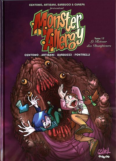 Couverture de Monster Allergy -17- Le retour des dompteurs