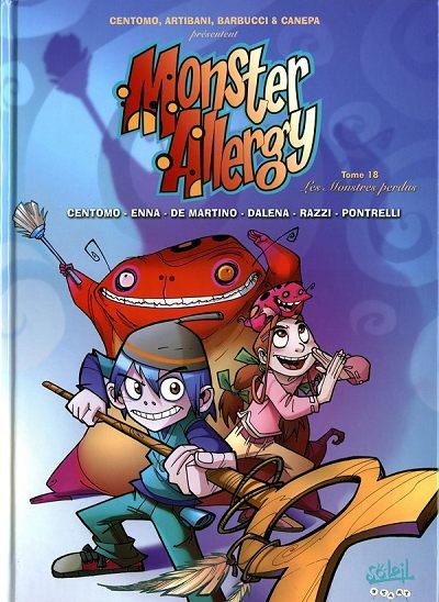Couverture de Monster Allergy -18- Les monstres perdus