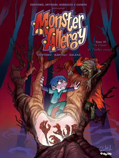 Couverture de Monster Allergy -10- Au cœur de l'arbre creux