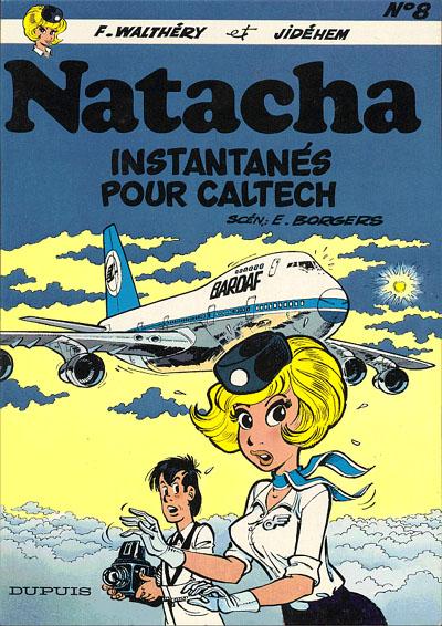 Couverture de Natacha -8- Instantanés pour Caltech