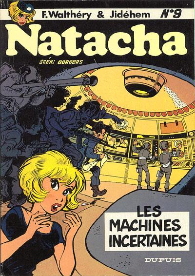 Couverture de Natacha -9- Les machines incertaines