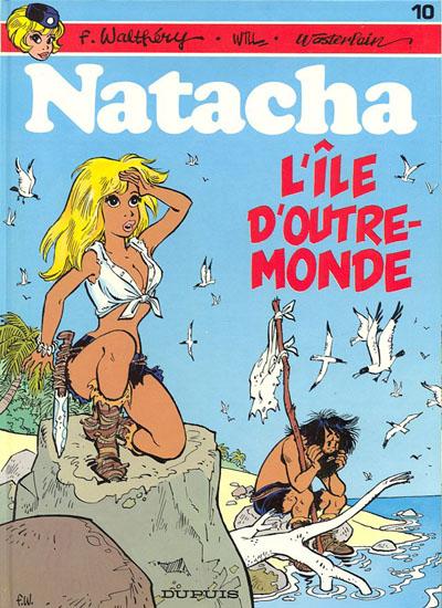 Couverture de Natacha -10- L'île d'outre-monde