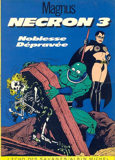 Couverture de Necron -3- Noblesse Dépravée
