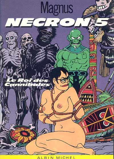Couverture de Necron -5- Le Roi des Cannibales