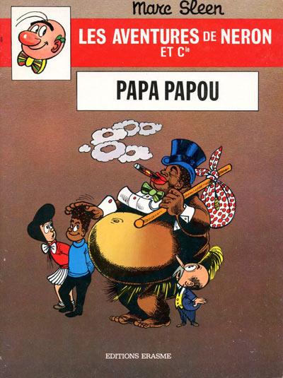 Couverture de Néron et Cie (Les Aventures de) (Érasme) -70- Papa papou