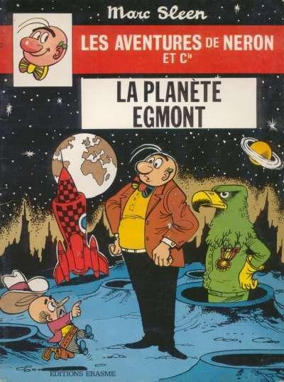 Couverture de Néron et Cie (Les Aventures de) (Érasme) -62- La Planète Egmont