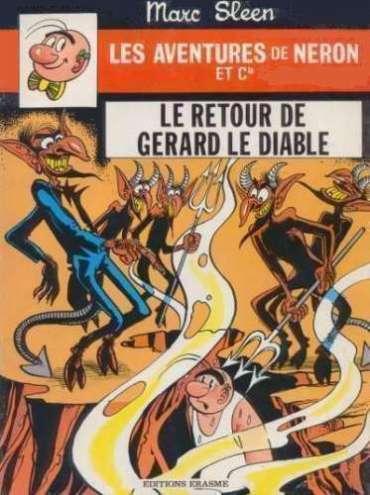 Couverture de Néron et Cie (Les Aventures de) (Érasme) -87- Le retour de Gérard le Diable