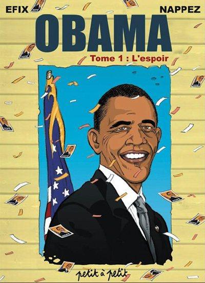 Couverture de Obama -1- L'espoir