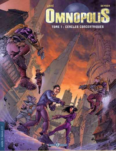Couverture de Omnopolis -1- Cercles concentriques