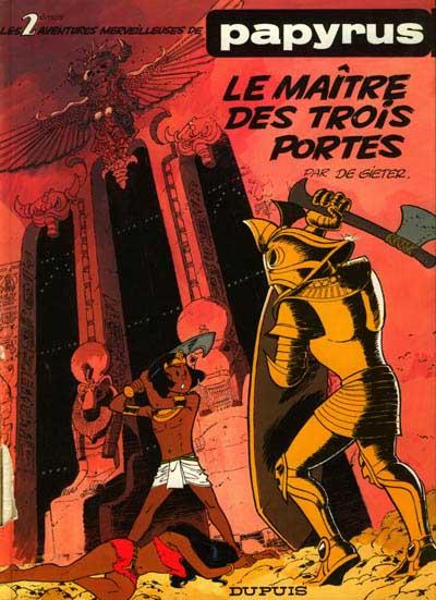 Couverture de Papyrus -2- Le maître des trois portes