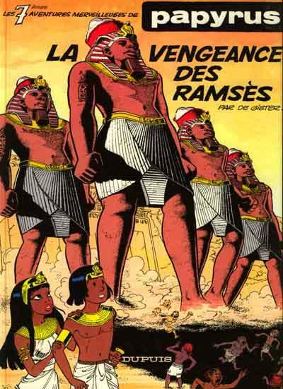 Couverture de Papyrus -7- La vengeance des Ramsès