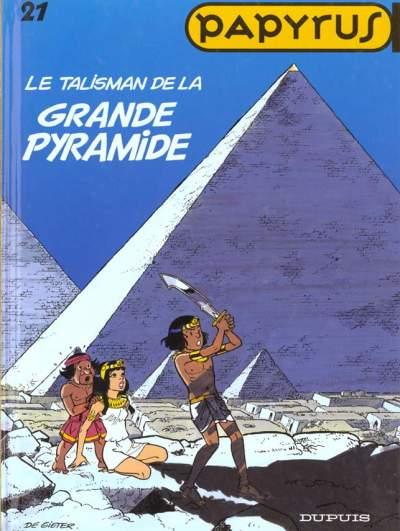 Couverture de Papyrus -21- Le talisman de la grande pyramide