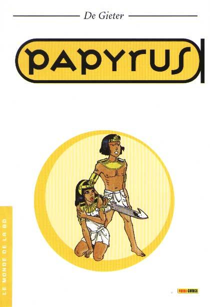 Couverture de Papyrus -MBD27- Papyrus - Le Monde de la BD - 27