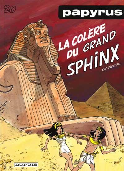 Couverture de Papyrus -20- La colère du grand Sphinx