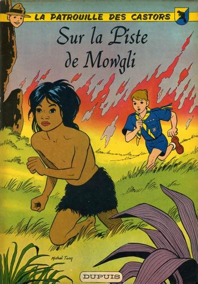 Couverture de La patrouille des Castors -4- Sur la Piste de Mowgli