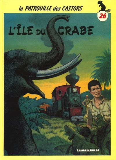 Couverture de La patrouille des Castors -26- L'île du crabe
