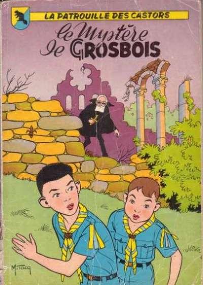 Couverture de La patrouille des Castors -1'- Le Mystère de Grosbois