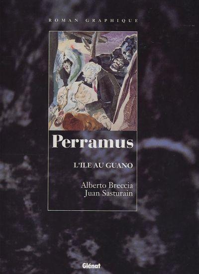 Couverture de Perramus -3- L'île au Guano