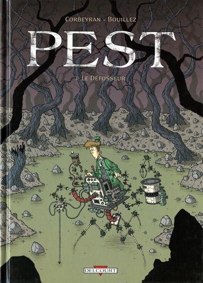 Couverture de Pest -1- Le Défosseur