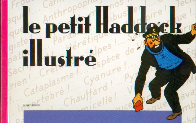 Couverture de Tintin - Divers -70- Le petit Haddock illustré