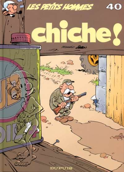 Couverture de Les petits hommes -40- Chiche!