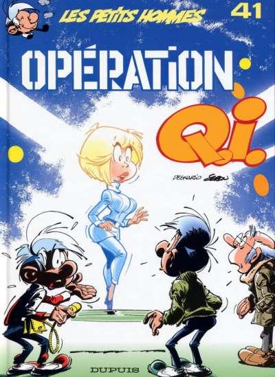 Couverture de Les petits hommes -41- Opération Q.I.