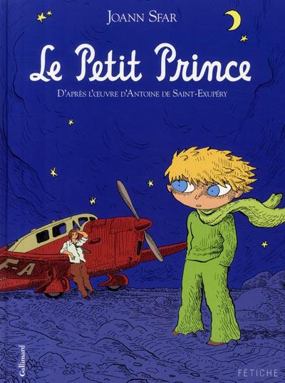 Couverture de Le petit Prince (Sfar) - Le petit Prince