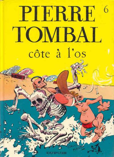 Couverture de Pierre Tombal -6- Côte à l'os