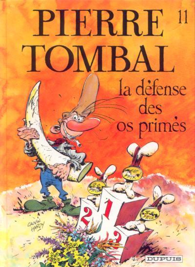 Couverture de Pierre Tombal -11- La défense des os primés