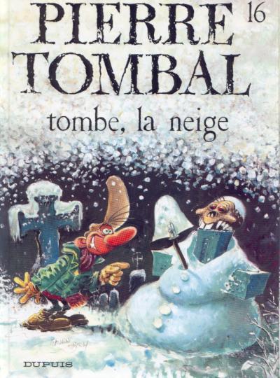 Couverture de Pierre Tombal -16- Tombe, la neige