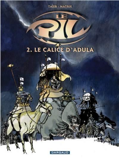 Couverture de Le pil -2- Le Calice d'Adula