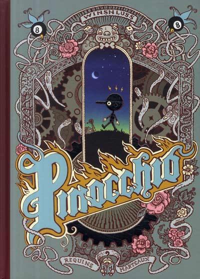 Couverture de Pinocchio (Winshluss) - Pinocchio