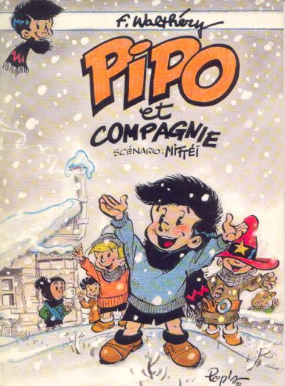 Couverture de Pipo (Mittéï/Walthéry) - Pipo et compagnie