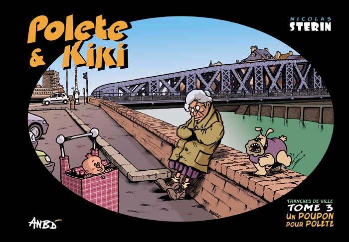 Couverture de Tranches de ville -3- Un poupon pour Polète