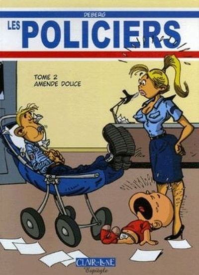 bande dessinee les policiers