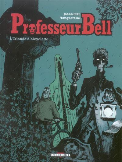 Couverture de Professeur Bell -5- L'Irlande à bicyclette
