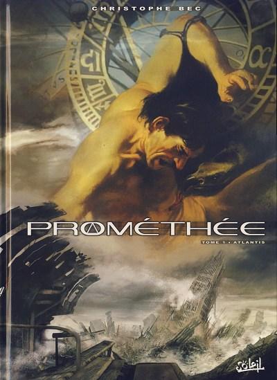 Couverture de Prométhée -1- Atlantis