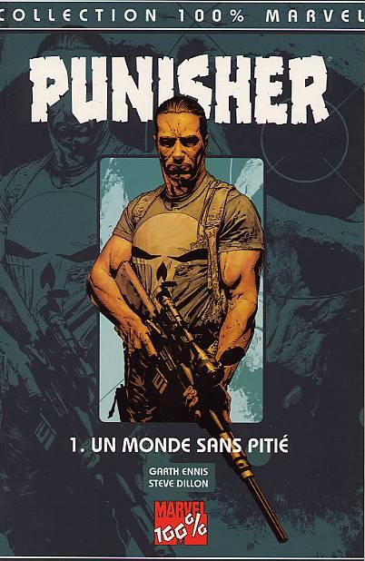 Couverture de Punisher (100% Marvel - 2000) -1- Un monde sans pitié