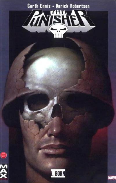 Couverture de Punisher (MAX Comics) -1- Born
