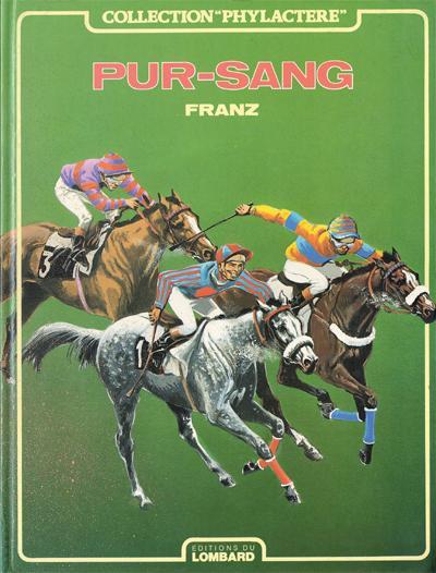Couverture de Pur-Sang (Franz) - Pur-Sang